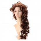 wm97 Synthetic Fashion Long Curly Wing - Light Brown + Deep Brown