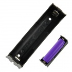 Buy DIY 1-Slot 18650 Battery Holder Pins - Black