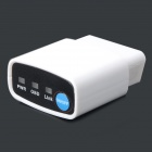 Wi-Fi OBD2 Car Diagnostic Tool w/ Electronic Switch - White