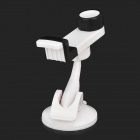 JHD-04HD67 360 Degree Rotary Car Mount Holder w/ Suction Cup for IPHONE + More - Black + White