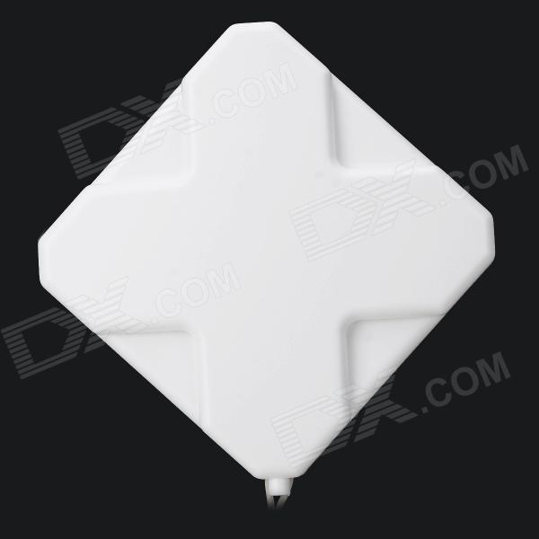 W435 35dBi Dual SMA Male Omni 4G Antenna w/ Suction Cup
