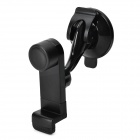 JHD-04HD67 360 Degree Rotary Car Mount Holder w/ Suction Cup for IPHONE / IPAD + More - Black