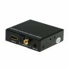 HDMI 2-CH / 5.1-CH Audio Digital Stereo Extractor Splitter w/ SPDIF Fiber / Coaxial 3.5mm Jack