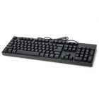 motospeed K40 USB 2.0 Wired Gaming Keyboard - Black