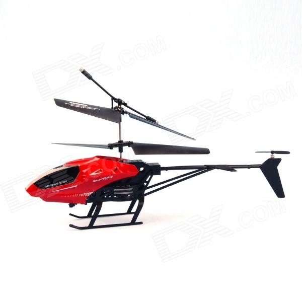 M35 3.5-CH 2-Hélices IR Remote Control Helicopter w / Gyro - Rouge (4 x AAA)