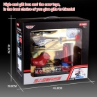JJRC SJ998 2.4GHz 3.5-CH Double Handle R/C Helicopter w/ 3D Words - Red + Multicolored (6 x AA)