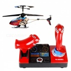 JJRC SJ998 2.4GHz 3.5-CH Doble Asa R / C Helicopter w / Palabras 3D - Red + multicolores (6 x AA)