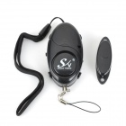 Window / Door / Personal Safety Alarm Device - Black (3 x AG13)