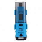 BSIDE BTH01 LCD 2-Channel Humidity / Temperature / Dew Point Data Logger w/ USB - Black + Blue