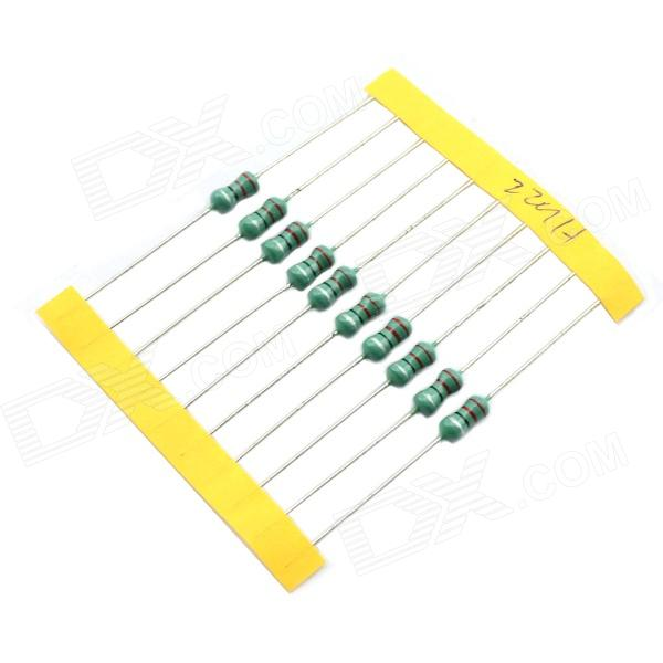 MaiTech 11 KIinds Color Code Inductance Color Ring Inductance Package - Green + Silver (110 PCS)