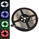 Waterproof 36W 1200lm 300-SMD 3528 LED RGB Light Strip + 24-Key Controller + US Plug Adapter - (12V)
