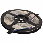Waterproof 36W 1200lm 300-SMD 3528 LED RGB Light Strip + 24-Key Controller + US Plugsss Adapter - (12V)