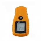 "BENETECH GM270 1.4"" LCD Infrared Temperature Tester Thermometer - Yellow (2 x AAA)"