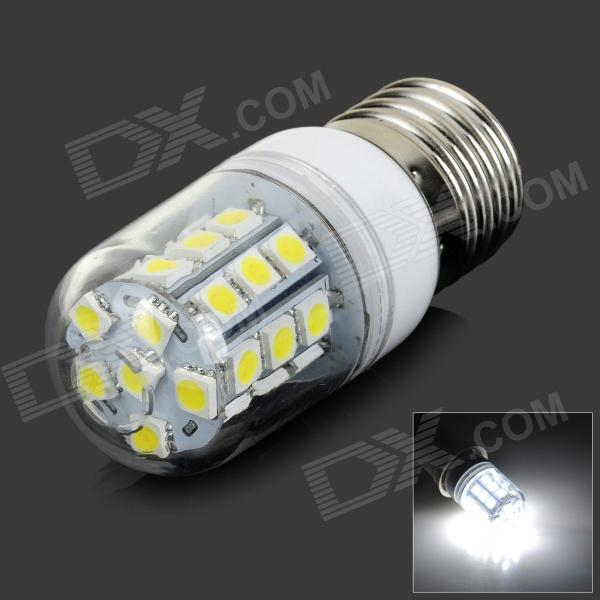 FengYang 018 E27 6W 180lm 6500K 30-SMD 5050 LED White Light Bulb (AC 220V)