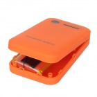 « 8600mAh » Portable Dual USB Power Source Banque w / A8 Mini GSM / GPRS GPS Position Tracker - Orange