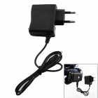 KU20 Universal EU Plug 4.2V Power Adapter for Headlamp - Black (AC 100~250V)
