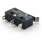 DIY 5A 125V / 250V Micro Switch - Negro (10 piezas Pack)