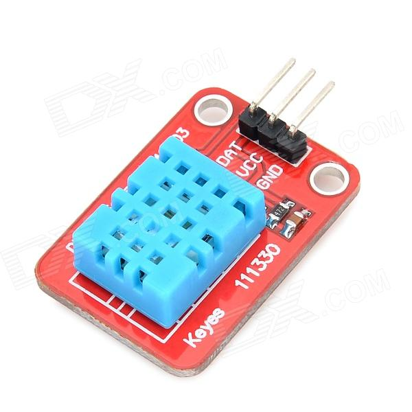 Keyes dht fr temperature humidity sensor module for