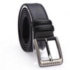 JAMRESVCK HY09 Men's Split Cowhide Waist Belt - Black