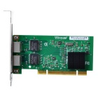 Winyao WY546T2 Copper RJ45 Gigabit Ethernet PCI Network card -Green