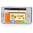 "i9270+(SPHS on Hsdroid) MTK6515 Android 4.0.3 GSM Bar Phone w/ 3.5"", FM, Wi-Fi, Dual camera - White"