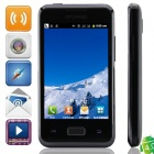"i9270+(SPHS on Hsdroid) MTK6515 Android 4.0.3 GSM Bar Phone w/ 3.5"", FM, Wi-Fi, Dual Camera - Black"