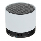 JL-510FM Mini Bluetooth v3.0 + EDR Stereo Speaker w/ TF - White
