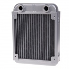 WT-008 12cm Aluminum 1/4G Thread Radiator / Cooling Gear - Silver