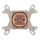 WT-019 Transparent Bottom Position CPU Copper Cold Head - Silver + Black + Copper