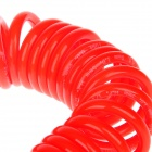 Pneumatic Plastic Coil Tube Pipe Hose - Orange (600cm)