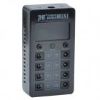 "JHT Mini Power Supply w/ 1.9"" LCD Display for Guitar Effector - Black"