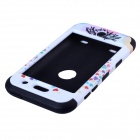 Love Heart Tree Style Protective Silicone Case for IPOD Touch 4 - Black and White
