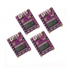 StepStick DRV8825 Stepper Motor Driver Carrier Reprap 4-Layer PCB Set - Purple (4 PCS)