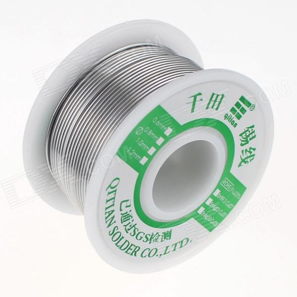 qitian-b5508200g-lead-tin-soldering-wire-wick-roll-silver