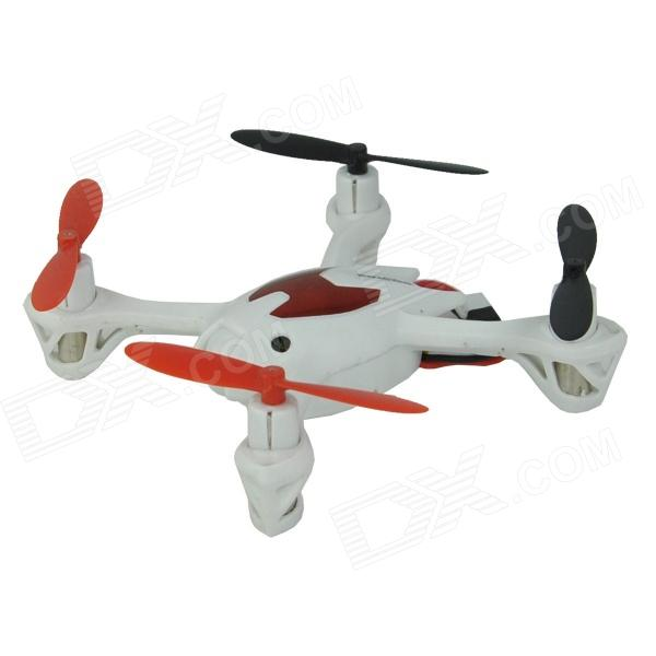 Brilink BH06 Mini 2.4G Radio Control 4-CH Quadcopter R/C Aircraft 3D Tumbling w /6-Axis Gyro - White