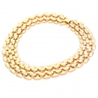 NC-7351 Zinc Alloy Hollow Out Necklace for Women - Golden