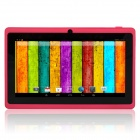 "Q88pro 7.0"" Dual Core 1.5GHz Android 4.2.2  Tablet PC w/ 512MB RAM, 4GB ROM, TF, Dual-Camera - Pink"