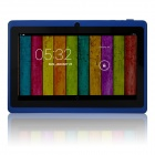 "Q88pro 7.0"" Dual Core 1.5GHz Android 4.2.2  Tablet PC w/ 512MB RAM, 4GB ROM, TF, Dual-Camera - Blue"