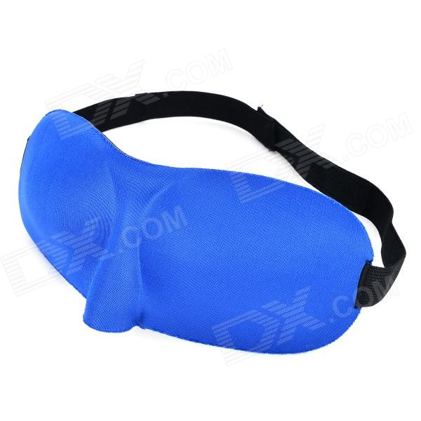 3D Light Isolating Sleeping Eyeshade - Blue