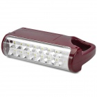EUPEK U7 Handheld Outdoor 15-5730 SMD LED 2-Mode White Light Emergency Lamp - Red (110~240V)