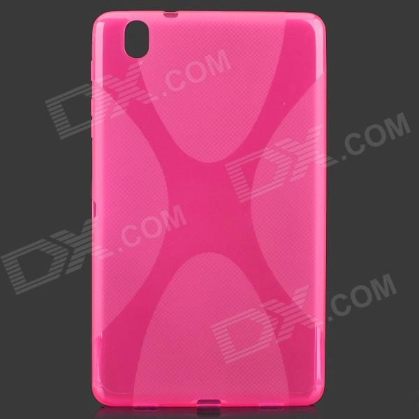 X Style Anti-Slip Protective TPU Back Case for Samsung Galaxy Tab Pro 8.4 T320 - Deep Pink - DXTablet Cases<br>Color Peach Brand N/A Quantity 1 Piece Shade Of Color Pink Material TPU Compatible Brand Samsung Compatible Size Others8.4 Style BusinessCasualFashionAntiqueContemporary Compatible Model Samsung Galaxy Tab Pro 8.4 T320 Type Back Covers Other Features Protects your device from scratches dust and shock Packing List 1 x Protective case<br>