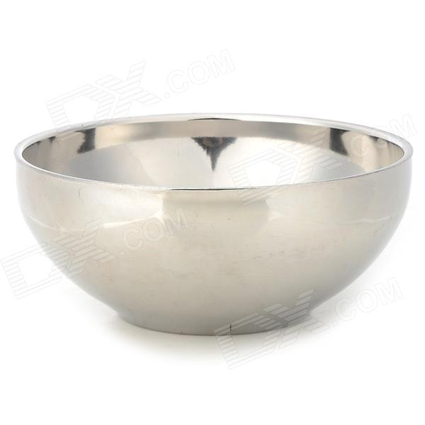 XHJ001 Stainless Steel Heat Insulation Kitchen Bowl - Silver