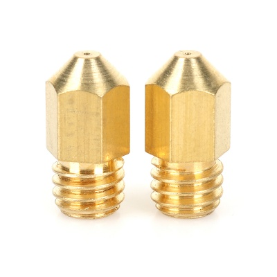 0.4mm 3D Printer Brass Nozzles for Makerbot - Golden (2PCS)