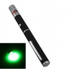 SingFire SF-LPG5 532nm 5mW Green Laser Pointer Pen - Black + Silver (2 x AAA)