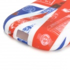 Graffiti UK National Flag Style Big Ben Pattern TPU Case for Samsung Fame S6812 / S6810 - Red + Blue
