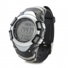 Foxguider FX704S Outdoor Fishing Quartz Digital Wrist Watch / Barometer / Altimeter - Blackish Grey