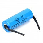 "UltraFire A-01 3.7V ""1600mAh"" Rechargeable Li-ion 18500 Batteries - Blue (2 PCS)"