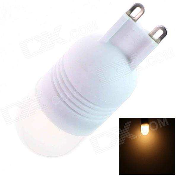 G9 1.5W 60lm 2500K 2 x SMD 5050 LED Warm White Light Lamp Bulb - (AC 220~240V)
