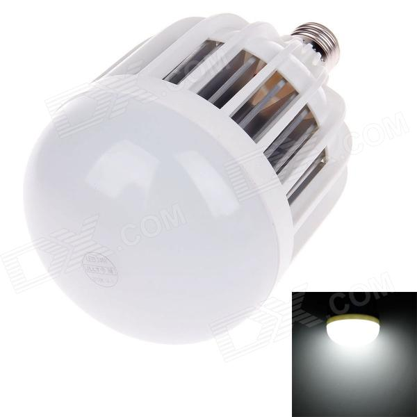 JLLT E27 24W 3600lm 6500K 48-SMD 5730 LED Energy-Saving White Light Lamp Bulb - White (AC 160~250V) smart bulb e27 7w led bulb energy saving lamp color changeable smart bulb led lighting for iphone android home bedroom lighitng