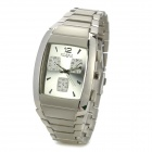 0164101 Stainless Steel Quartz Analog Wrist Watch for Men - Silver  (1 x 377)
